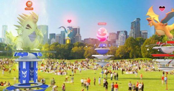 《Pokémon GO》道馆更新,团体战带来全新体验