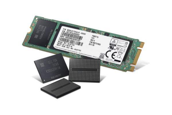 三星第四代  V-NAND 记忆体产品