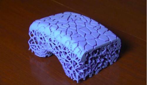 米其林用3D打印做了一款新轮胎,样子就跟珊瑚一样