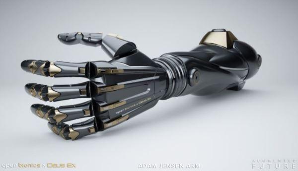 电竞公司与义肢制造商合作,打造科幻风仿生手臂