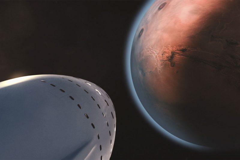 马斯克的火星殖民梦:10年后每人只要20万美元就能前往火星