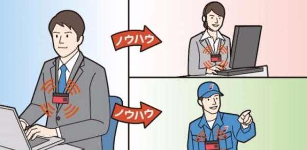 日本研发「人工智能名牌」协助新人融入职场