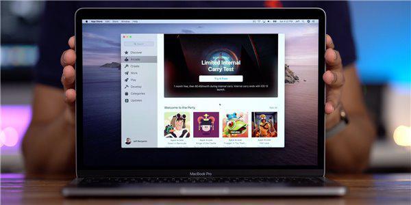 外媒在MacBook上试玩了苹果Arcade游戏服务