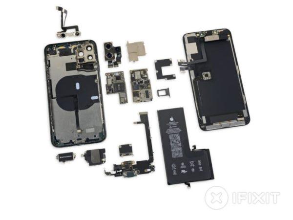 外媒拆解iPhone 11 Pro Max 确认没有额外2GB内存、反向充电依然成谜