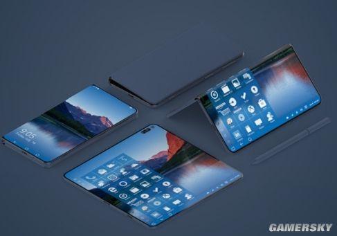 微软Surface手机渲染图美到不真实!要给WP手机再续1秒吗?