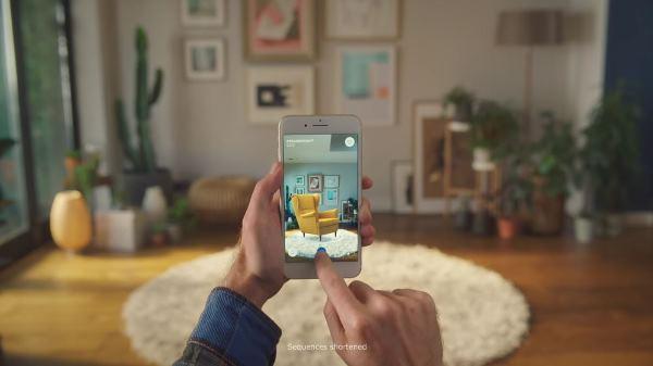 AR 布置家居新玩法 IKEA Place 手机程序更新