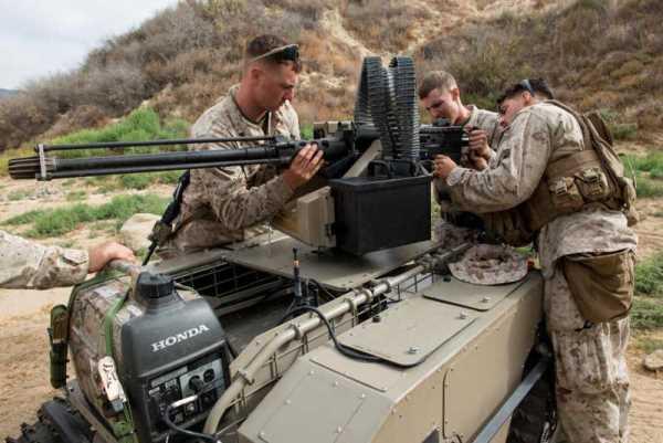 美军启动「联合作战部队」计画2025年武装机器人将比人类士兵多