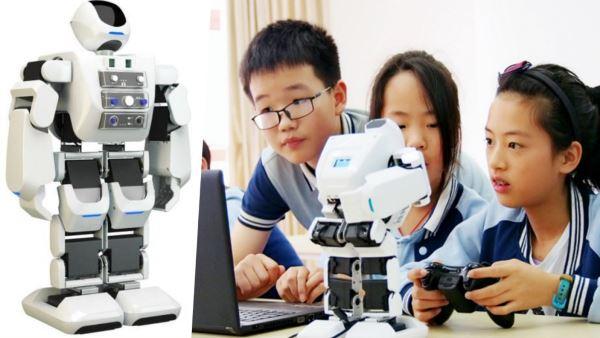 【CCF-GAIR 2018】「 AI + 教育」最佳成长奖 乐聚机器人