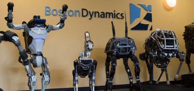 Google抛弃波士顿动力公司,由日本软银接手