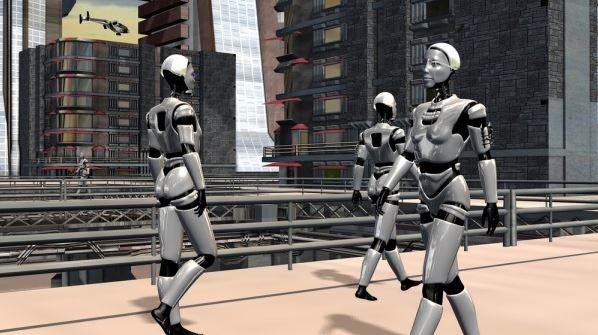机器人城市