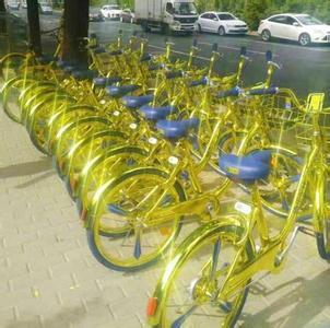 土豪金共享单车 奇葩共享单车背后,是摩拜ofo不懂的心酸? AI资讯 第2张