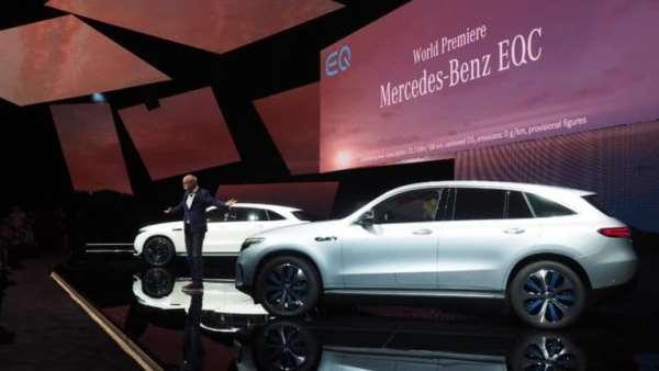 Benz EQC平治首部电动车,450km续航力+智能辅助