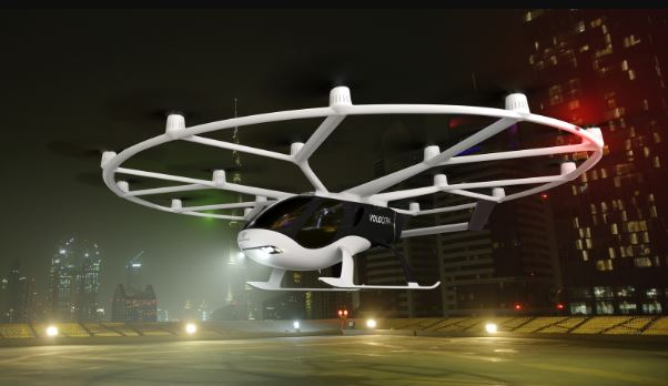 Daimler 与吉利开发空中出租车 Volocopter,五年内推出无人驾驶空中服务