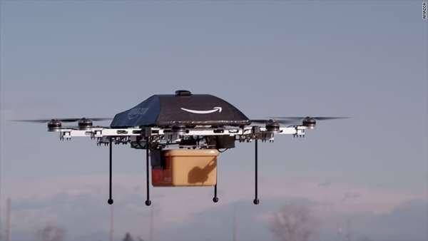 收件者发手势+声音控制送货无人机,亚马逊申请专利