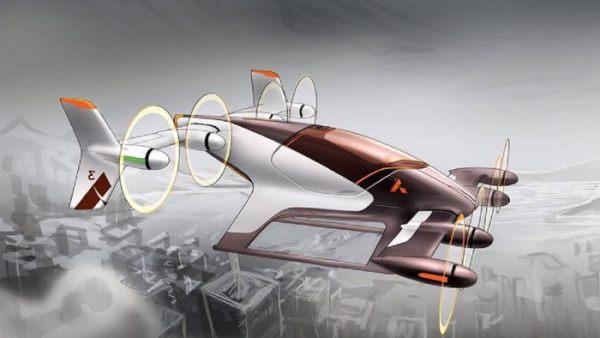 Airbus Vahana飞行汽车