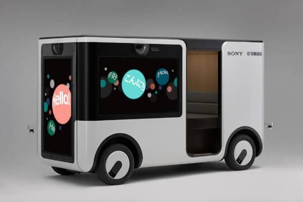 Sony与Yamaha推出无人车,4K电视当车窗 + 远端驾驶